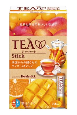 20160106agftea - AGF/「ブレンディ スティック ティーハート マンゴー&オレンジ」発売