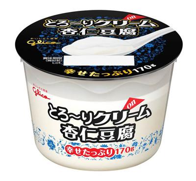とろ~りクリームon 杏仁豆腐