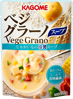 カゴメ/期間限定「ベジグラーノ じゃがいもの冷製スープ」