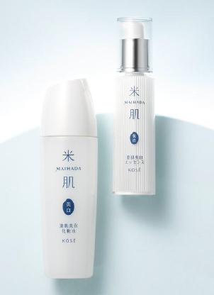 「米肌」から美白ケアができる化粧水とエッセンス