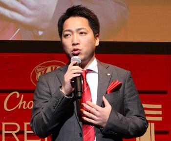 ネスレ日本のコンフェクショナリー事業部の槙亮次・マーケティング部長