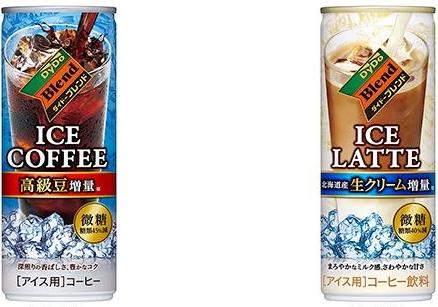 ダイドーブレンド アイスコーヒー 微糖・アイスラテ 微糖