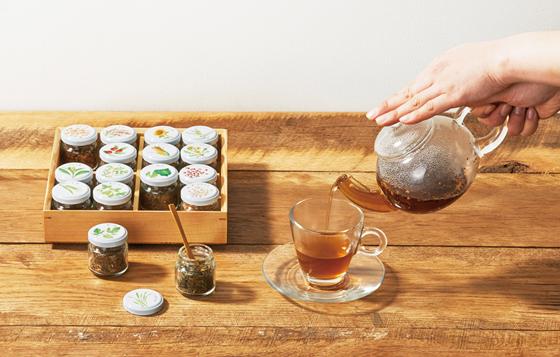 「マイブレンド十六茶」体験