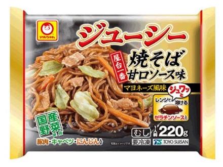 マルちゃん 屋台一番ジューシー焼そば甘口ソース味 マヨネーズ風味
