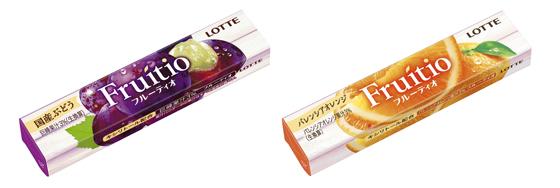 フルーティオ 国産ぶどう・バレンシアオレンジ