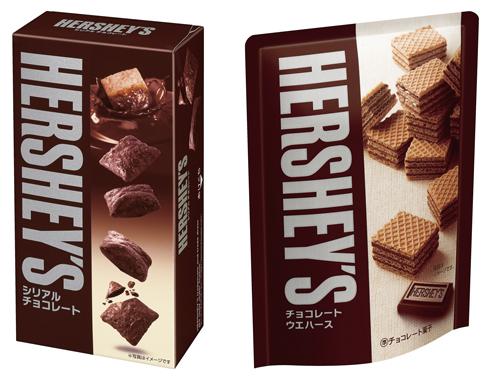 シリアルチョコレート、チョコレートウエハース