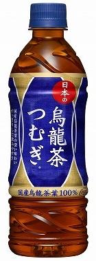 日本の烏龍茶 つむぎ 500mlPETボトル