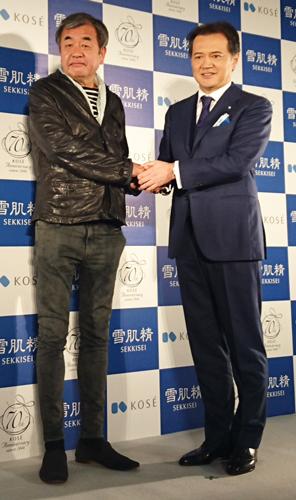 隈研吾さんと小林社長