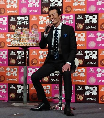 遠藤憲一さんがチョコボール新CMに出演
