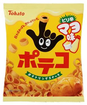 ポテコ ピリ辛マヨ味