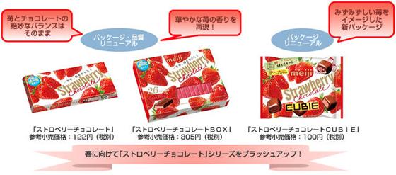 「ストロベリーチョコレート」シリーズ ブラッシュアップ