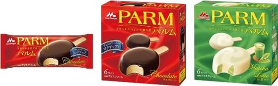 新「パルム チョコレート」、「抹茶ラテ」