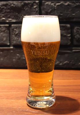 新しくなったエビスビール