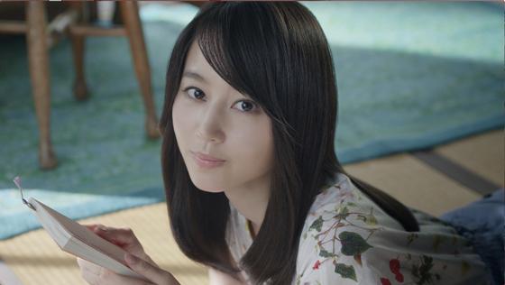 堀北真希さんが出演する「いち髪」の新CM1