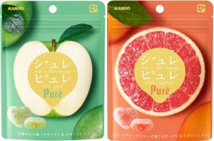ジュレピュレ 王林りんご味・ピンクグレープフルーツ味