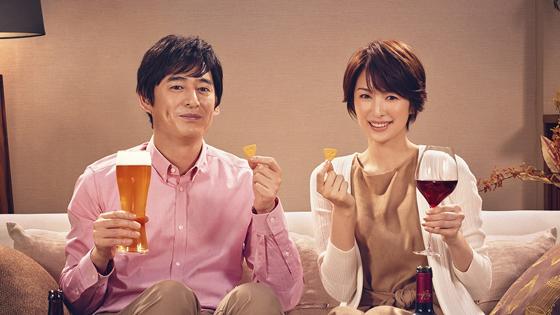 吉瀬美智子さん、博多大吉さんを起用した「チーザなひととき」篇