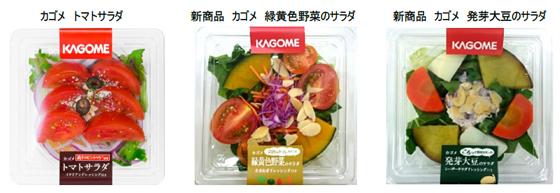 特色のあるこだわり素材を使用した惣菜サラダ