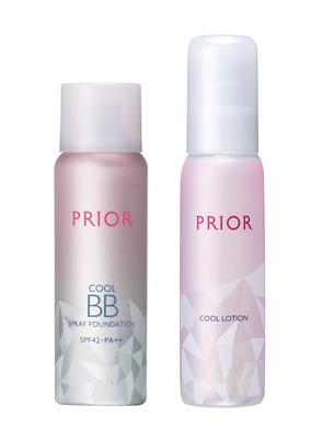 クール美つやBBスプレー UV、クールシャワー化粧水