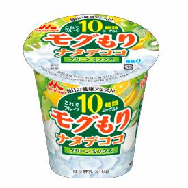 これでフルーツ10種類ヨーグルト モグもりナタデココ グリーンミックス
