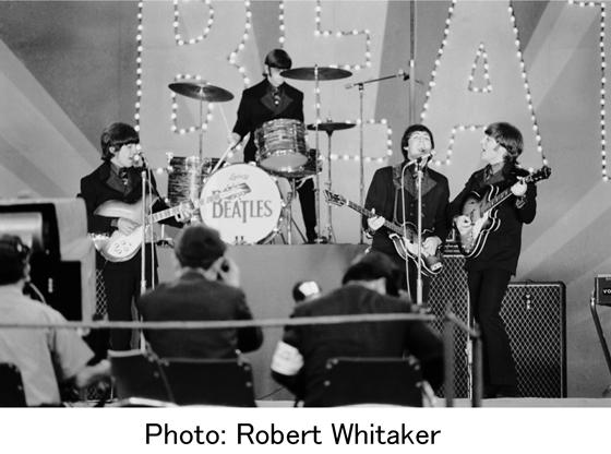 ザ・ビートルズ公演の秘蔵写真を公開