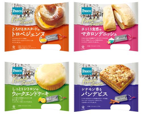 20160421pasco - 敷島製パン/フレンチスイーツシリーズから「しっとりシトロンのウィークエンドケーキ」