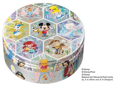 「ディズニー・クリスタル・シーズン」デザイン缶