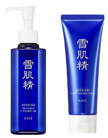 コーセー/雪肌精からクレンジングオイルと洗顔フォーム