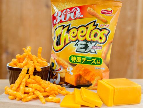 20160511cheetos - ジャパンフリトレー/数量限定「チートスエクストラ 特濃チーズ味」
