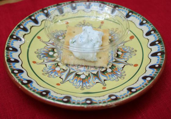 ヨーグルトを使った伝統料理「スネジャンカ」