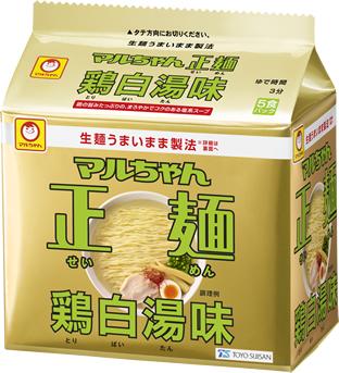 マルちゃん正麺 鶏白湯味 5食パック