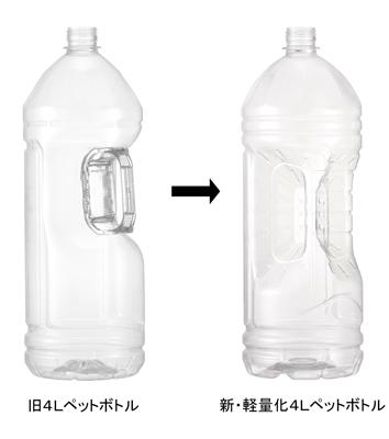 110gの4リットルペットボトルを導入
