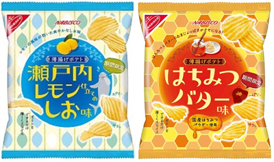 20160526lemon - ヤマザキ・ナビスコ/「薄揚げポテト 瀬戸内レモン仕立てのしお味」発売