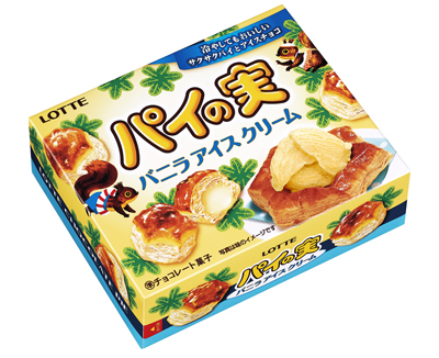 パイの実 バニラアイスクリーム