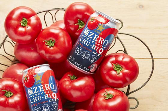 極ZERO CHU-HI ゴクハイ9 トマト