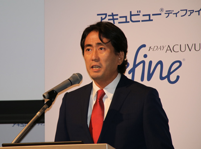 森村純コマーシャル・オペレーションズ&ストラテジー本部ヴァイスプレジデント