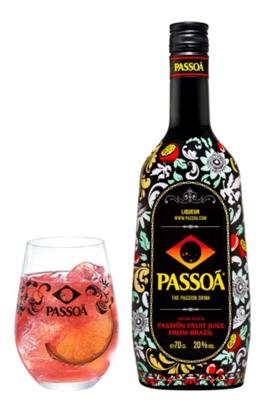 フランス生まれのパッションフルーツのリキュール「PASSOA」