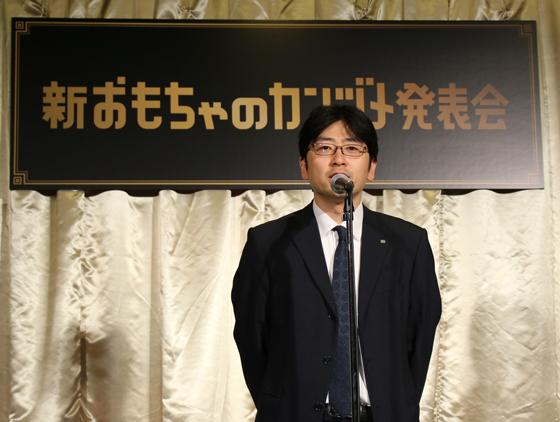 営業本部菓子食品営業部菓子営業グループの山崎力さん