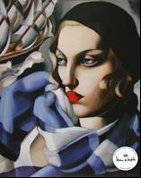 タマラ・ド・レンピッカ 「青いスカーフ」