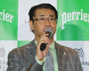 ネスレ日本ウォーター事業本部の栗原俊文・ビジネスマネージャー