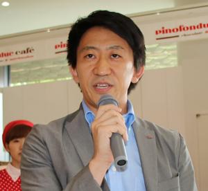 森永乳業・冷菓マーケティンググループの蓮沼裕二・アシスタントリーダー