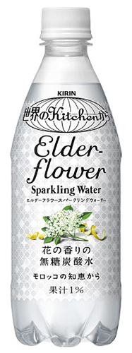 キリン 世界のKitchenから Elderflower Sparkling Water