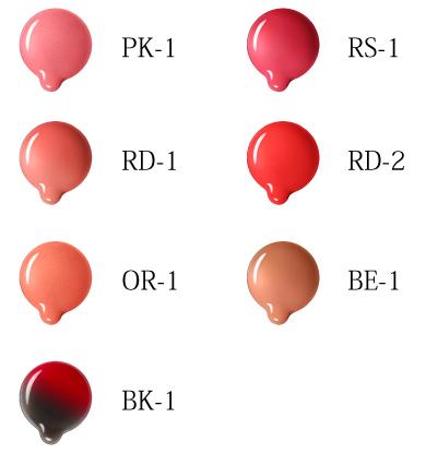 カラーセンサーリップティント 全7色