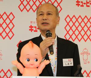 フードサービス本部長の清水誠三・執行役員