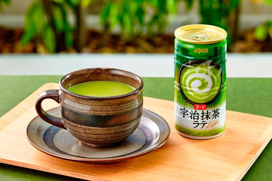 ダイドー/宇治抹茶100%使用「葉の茶 宇治抹茶ラテ」
