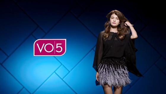 「VO5ヘアデザインクリエイター」キャラクターにマギーさん