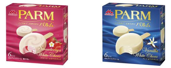 パルム ストロベリー&ホワイトチョコ・バニラホワイトチョコ
