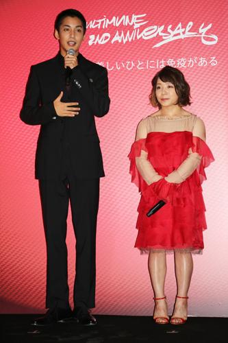 三宅宏実選手と俳優の大野拓朗さんがゲスト