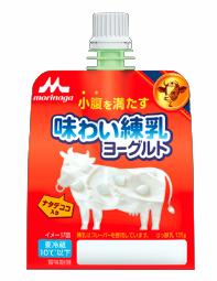 小腹を満たす 味わい練乳ヨーグルト