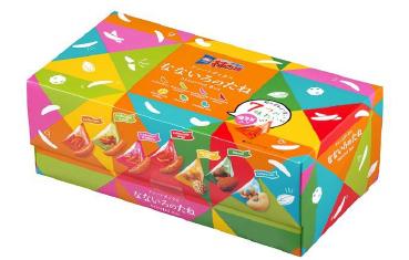 亀田の柿の種 なないろのたねボックス