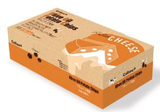 オリーブオイルポテトチップス ラクレットチーズ風味